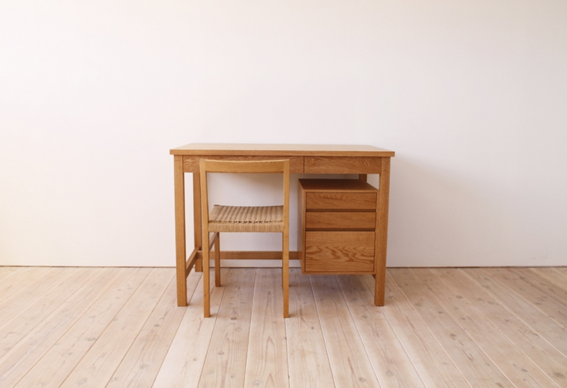 work desk hump the origins 無垢材のオーダー家具は 長野県の家具