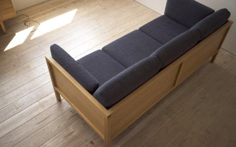 長野の家具工房HUMP(ハンプ)のオーダーソファ
